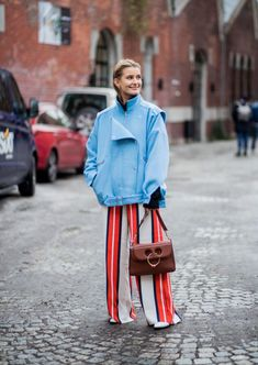 The Best Street Style At London Fashion Week AW18