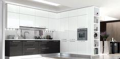 стиль хайтек в дизайне кухни (high tech kitchen design)