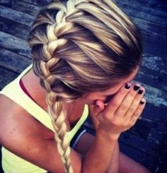 nice hair for school