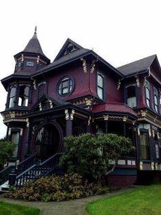 Amazing #Gothic house