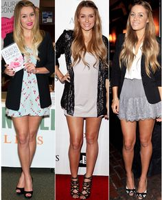 Lauren Conrad's style. Another one of my absolute favorites! Always looks good. And effortless