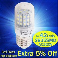 Modest E27e14 Screw Light Source High Bright Variable Tone Lighting 7w Energy-saving Household Lighting Table Lighting Source Ceiling Lights & Fans