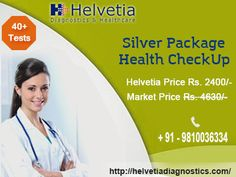 Silver Health Package : Get Full Body #Health Checkup Package in just Rs 2400!  Test Details - CBC, #Liver Profile, #Kidney Profile, #Diabetes Profile, #Thyroid Profile & Whole Abdomen #Ultrasound! #health #body #radiology #xray #diagnostics #fitness #southdelhi #GK1 #Delhi #NCR  Click here to know more: https://goo.gl/HFggi5