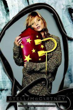 Stella McCartney Fall 2014 Campaign - Kate Moss....THAT BAG!!!!!!!!!
