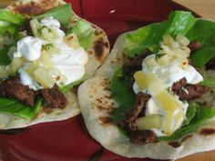 Beef Tacos with Home Made Pineapple Salsa and Tortillas