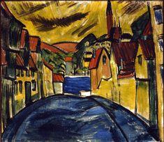 Erich Heckel  (1883 - 1970)  http://www.bruecke-museum.de/pressebild_heckel.htm