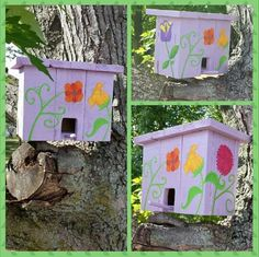 Pallet Bird House   ** Follow all of our boards** http://www.pinterest.com/bound4burlingam/