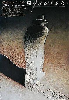 Galicja Jewish Museum Zydowskie Muzeum Galicja Gorowski Mieczyslaw Polish Poster
