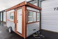 A la base grand comme une remorque, voici un concept de tiny house bien agencé. ...
