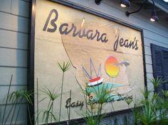Barbara Jean's.  St. Simons Island, Georgia
