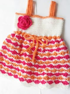 baby crochet patterns | Crochet Dreamz: Olivia Dress, Crochet Pattern for Baby Dress, Newborn ...