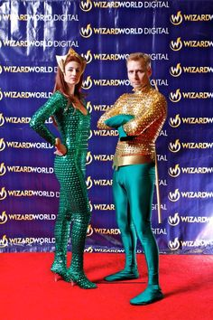 I'm not really a fan of Aquaman, but this Cosplay is very well done --  Aquaman and Mera via @comicsalliance