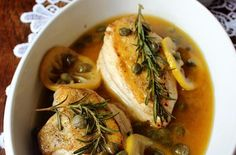 Chicken with #Lemon and Capers #chickenrecipe