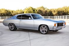 1972 CHEVROLET CHEVELLE CUSTOM - Barrett-Jackson Auction Company - World's Greatest Collector Car Auctions