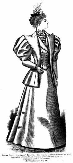 1890 Day Dress