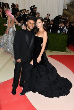 The Weeknd and Bella take the cutest couple award.