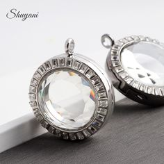 Find More Pendants Information about 10pcs/lot NEW 2015 33MM Round Rhinestone Floating Locket Necklaces & Pendants Alloy Magnetic Glass Living Memory Locket,High Quality pendant opal,China locket pendant Suppliers, Cheap pendant phone from shuyani Official Store on Aliexpress.com
