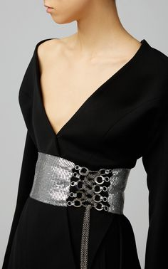 0c03dd33377 Lace Up Belt by FANNIE SCHIAVONI for Preorder on Moda Operandi Wide Leather  Belt