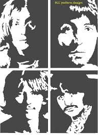 beatles stencil by heinpold - photo #17