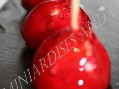Mini pomme d'amour, Recette Ptitchef Watermelon, Christmas Bulbs, Fruit, Vegetables, Holiday Decor, Biscuits, Food, Disney, Desserts