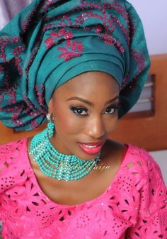 Nigerian Wedding ~African Prints, African women dresses, African fashion styles, african clothing