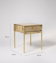 Columbus Bedside Table | Swoon Editions