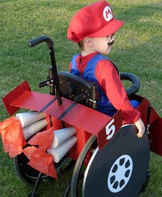 Halloween 2010 with Caleb, 5, as Mario driving his kart. <span class=meta>(Cassie McLelland)</span>