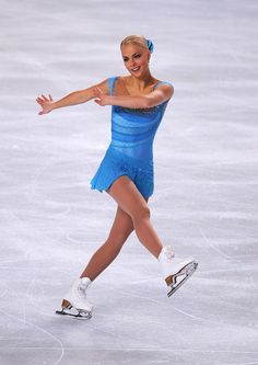 Kiira Korpi Photos Photos - Kiira Korpi of Finland performs in the women's singles during day one of the ISU Grand Prix of Figure Skating NHK Trophy at Makomanai Sekisui Heim Arena on November 11, 2011 in Sapporo, Japan. - NHK Trophy - Day 1