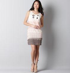 Loft Tiered Dress