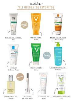 Pedimos no Facebook para vocês compartilharem dicas de produtos para pele oleosa e o resultado é esse post, com direito a comentários de leitores!