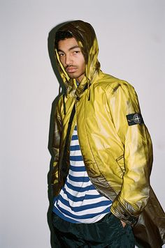 Supreme is always looking for a sick new collab, so this time they paired up with Stone Island for something a little different. Instead of Graphics or print elements of the collab, the used innovative heal reflecting textiles and reflective nylon metal fabrics, once again putting Supreme right back on top of streetwear. Darryl C.
