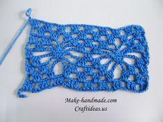 Aranha Crochet e shell ponto