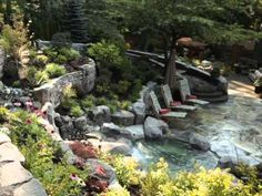 This Coquitlam British Columbia project is the recipient of the BCLNA Landscape Award of Excellence! Landscape Architecture Design, Surrey, British Columbia, Garden Bridge, Serenity, Outdoor Living, It Works, Living Spaces, Awards