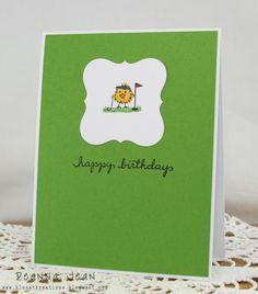 DeNami Birthday Golf Chickie card by Deanna