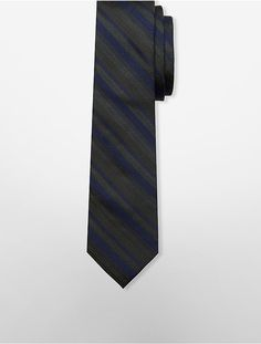 Slim Forest Multi Stripe Tie