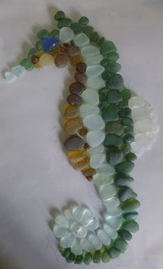 Fused Glass art How To Make - - Sea Glass art Mosaic - Melted Glass art Sun Catcher - Stained Glass art Craft Sea Glass Mosaic, Sea Glass Beach, Sea Glass Art, Glass Wall Art, Stained Glass Art, Sea Glass Jewelry, Fused Glass, Window Glass, Sea Glass Crafts