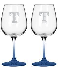 Boelter Brands Texas Rangers 2-Pack 16 oz. Wine Glass