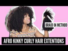 Natural Color Afro Kinky Curly Braid In Bundle Hair Weaves Brazilian Virgin Human Hair 3 Bundles - ComingBuy.com ynotkeeb- youtube