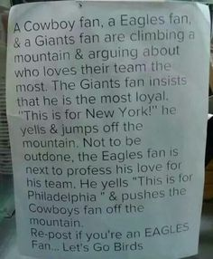 This is for Eagles fan