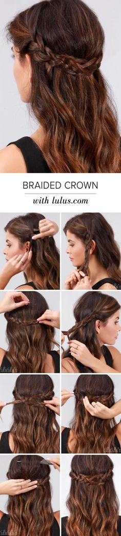 8 Easy Braids That Will Fix Any Bad Hair Day DIYbunker # Braids for short hair wedding 8 Easy Braids That Will Fix Any Bad Hair Day - DIYbunker Braided Hairstyles For Wedding, Braided Hairstyles Tutorials, Diy Hairstyles, Hair Tutorials, Latest Hairstyles, Hairstyle Ideas, Wedding Braids, Hair Wedding, School Hairstyles