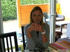 Joanna Staniucha-Szczurek and #coffee! #coffeetime #volleyball #siatkówka