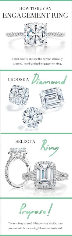 Looking for an engagement ring? Read our guide to learn how to choose the perfect, ethically sourced ring.