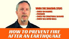 How to find gas leaks and shut off the gas meter after an earthquake Earthquake Disaster, National Safety, First Aid Supplies, American Heart Association, Emergency Response, Survival Skills, Fire
