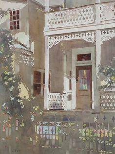 "judi betts watercolor gallery | Judith Betts' ""Mardi Gras"""