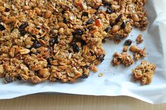 There are a few tricks to my tried and true amazing at-home clumpy (emphasis on clumpy) granola. Think olive oil, an egg white (it works like magic!), and a little bit of love. And here's the secret about granola, it's …