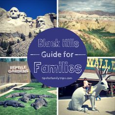 A week-long Black Hills itinerary for families. Lots of ideas for a Black Hills road trip! | TipsforFamilyTrips.com