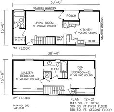 Small Two Story Home Plans