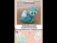 Caracol - Snail cold porcelain / polymer clay tutorial