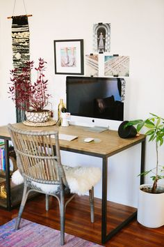 Home Office Makeover with Arhuas via A House in the Hills