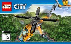 Город - Вертолет Jungle Cargo [Lego 60158]